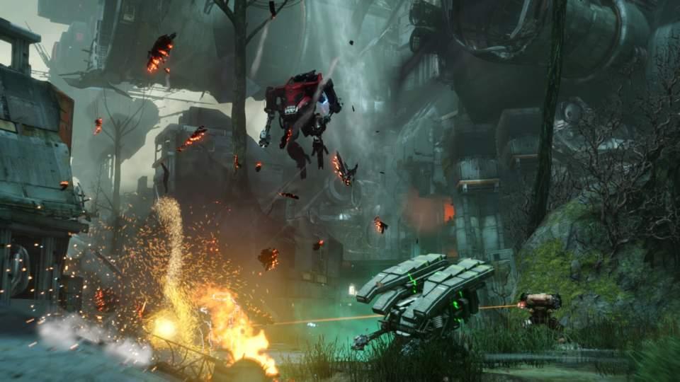 Hawken - скриншот 2