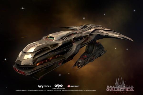 Battlestar Galactica Online - скриншот