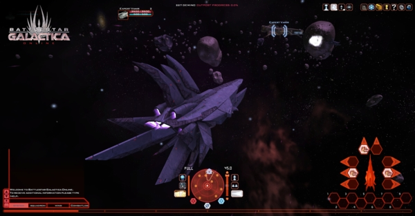 Battlestar Galactica Online - скриншот 2