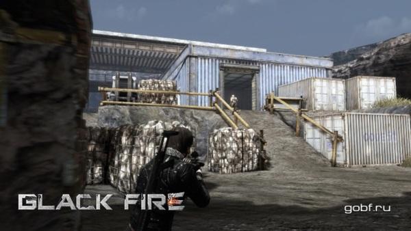 Онлайн игра Black Fire - скриншот