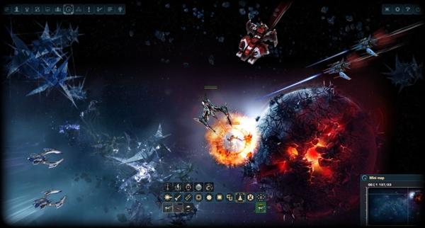 Онлайн игра DarkOrbit - скриншот 2