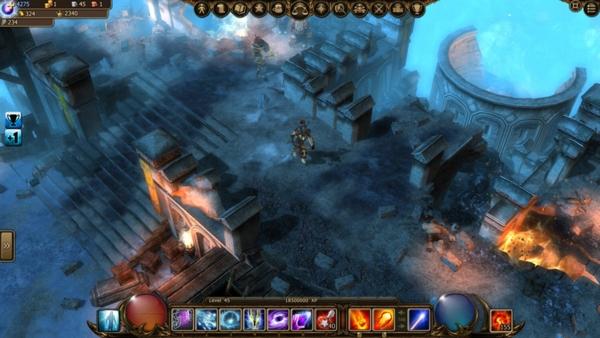 Браузерная игра Drakensang Online - скриншот 2