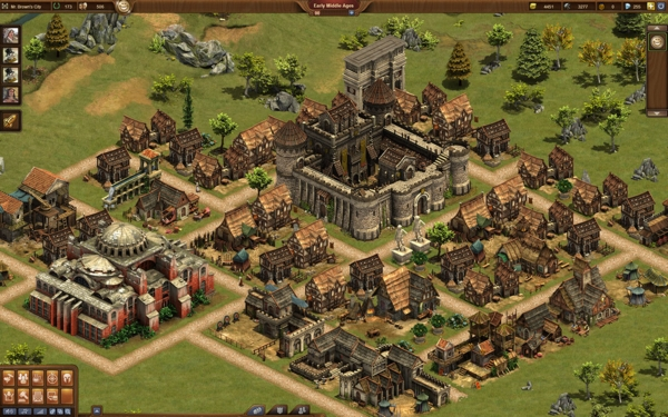 Онлайн игра Forge of Empires - скриншот