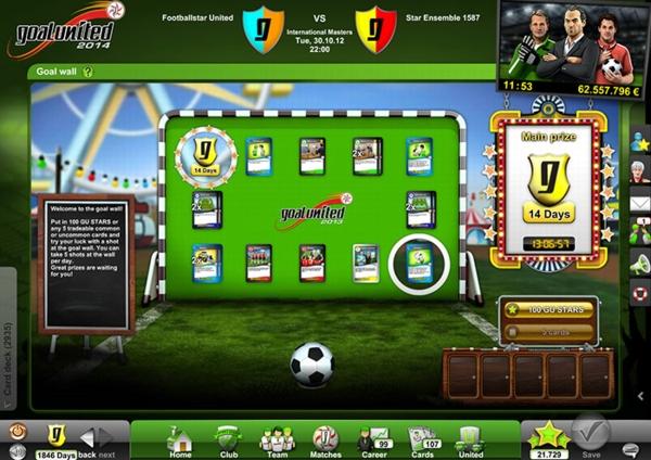 Goal United - скриншот 2