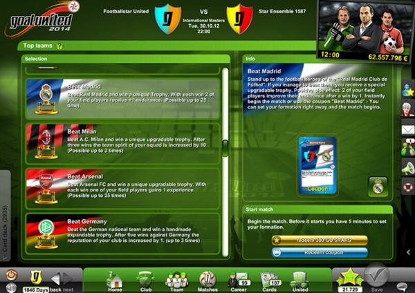Goal United - скриншот 3