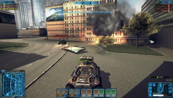 Metal War Online - скриншот 2