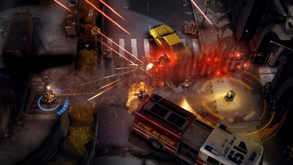 Онлайн игра Merc Elite - скриншот