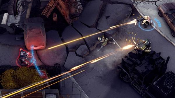 Онлайн игра Merc Elite - скриншот 2