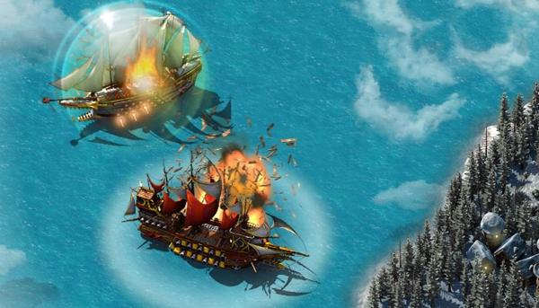 Онлайн игра Pirate Storm - скриншот