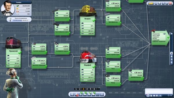 Онлайн игра Rail Nation - скриншот 3