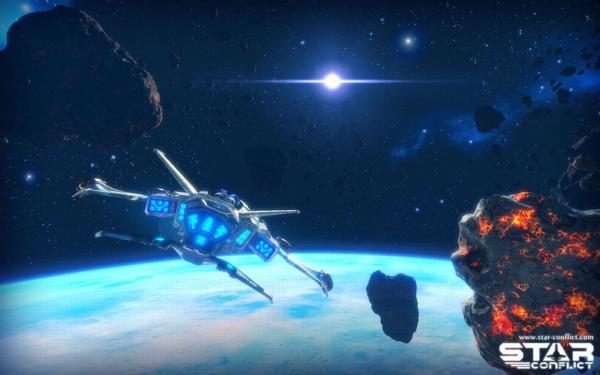 Онлайн игра Star Conflict - скриншот