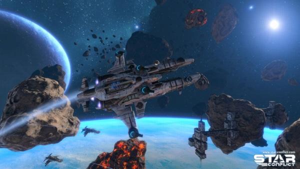 Онлайн игра Star Conflict - скриншот 2