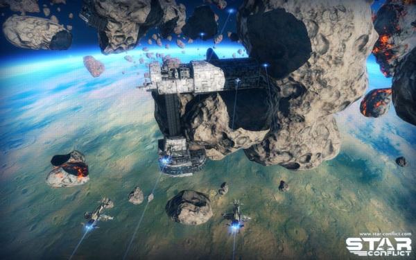 Онлайн игра Star Conflict - скриншот 3