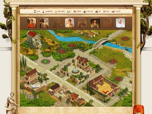 Игра Гладиаторы Онлайн - скриншот