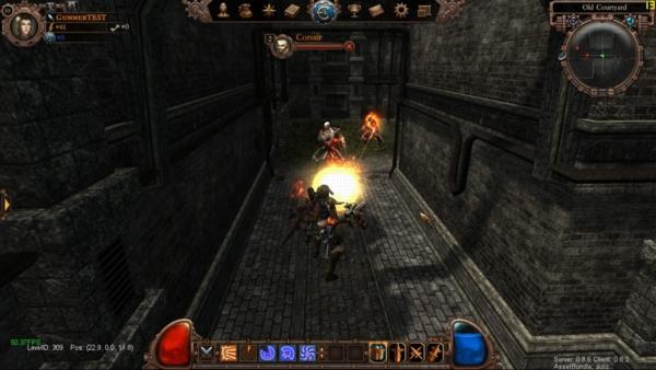 Онлайн игра Пароград - скриншот