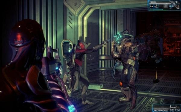 Онлайн игра Warframe - скриншот 2
