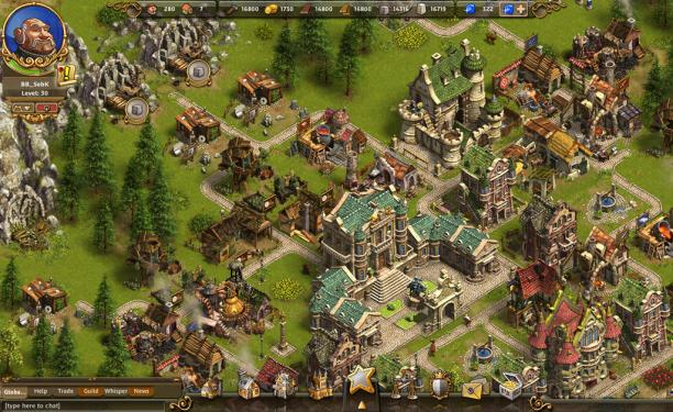 The Settlers Online - скриншот