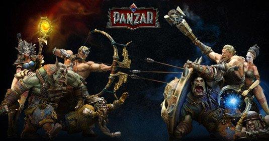 Клиентская онлайн игра Panzar
