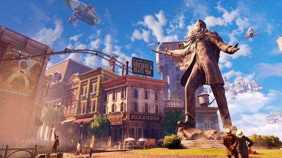 Bioshock Infinite - отличная графика