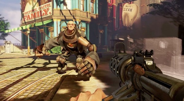 Bioshock Infinite - динамика