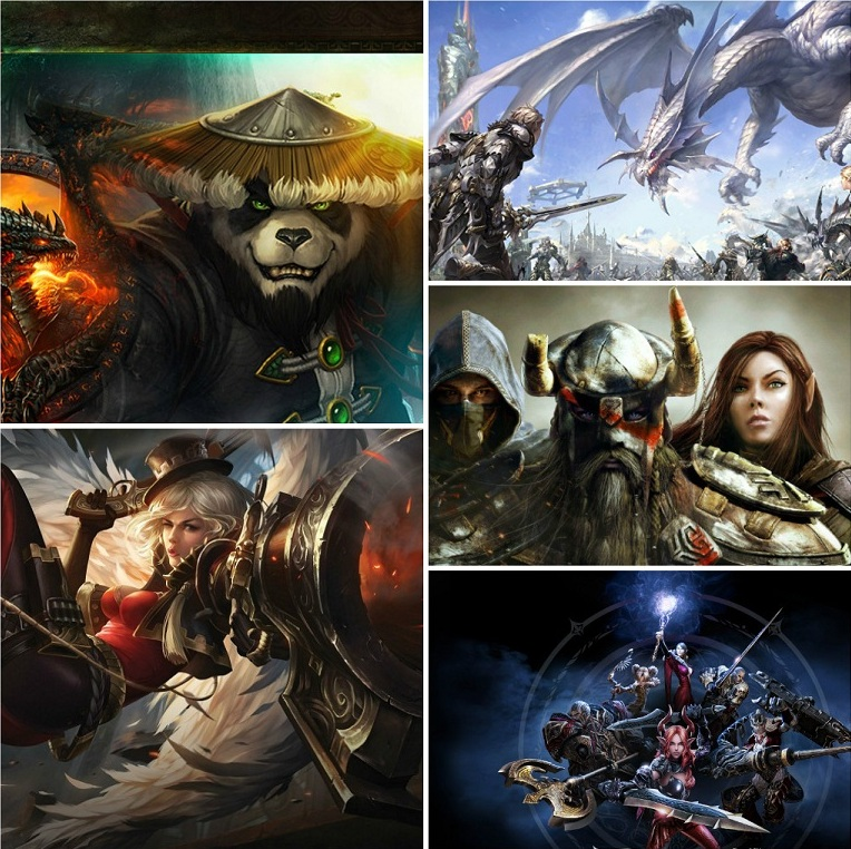 Топ 10 онлайн игр RPG