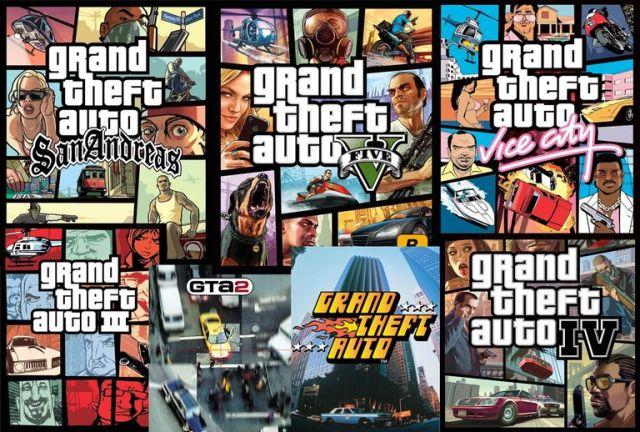 Игры похожие на GTA