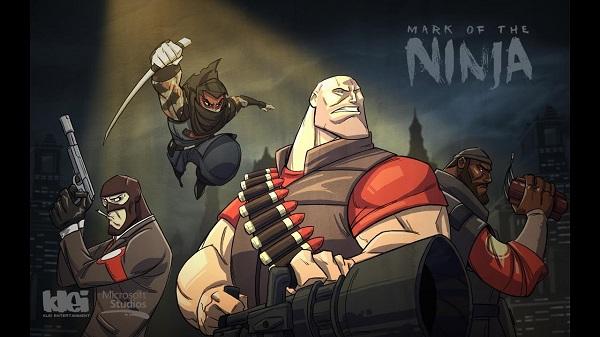 Игра Mark The Ninja