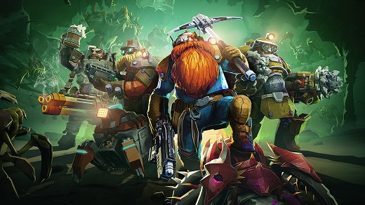 Игра Deep Rock Galactic