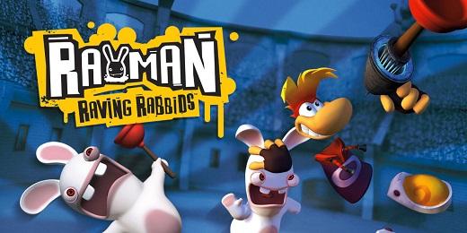 Игра Rayman Raving Rabbits