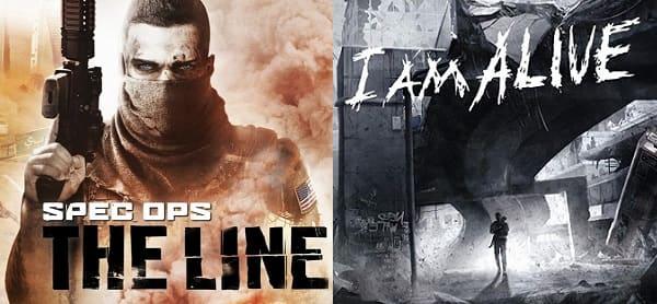 Игры I Am Alive и Spec Ops: The Line