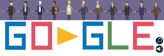 Doctor Who's 50th Anniversary - дудл-игра от Google