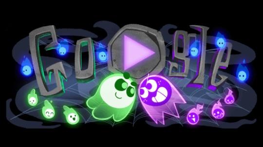 Halloween 2018 - дудл-игра от Google