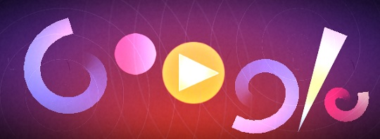 Oskar Fischinger's 117th Birthday - дудл-игра от Google
