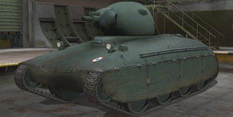 World of Tanks — Тяжёлый лёгкий танк AMX 40